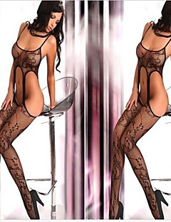 Women's Black Intimate Lace Nightwear Sexy Uniform