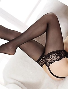 Women Thin Pantyhose , Lace / Mesh