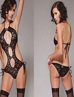speziellen schwarzen sexy Spitze scheinenden Strumpf reizvolle Uniform