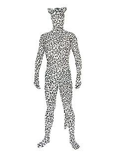 Unisex Leopard Spandex Lycra Amimal Cosplay Zentai