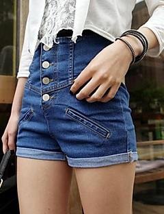 naisten muoti denim shortsit (lisää värejä)