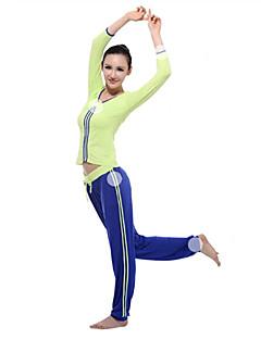 Dames Yoga Pakken Lange Mouw Groen Yoga S / M / L / Xl / Xxl