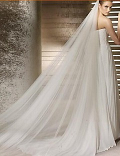 The Bride Veil Korean Long Single Trailing Veil Long Veil With Foreign Trade Export TS112 Combs