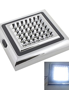 12V 42-LED White Light Car Indoor Lamp Roof Light Reading Light