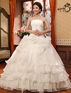robe de princesse à volants