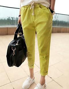 Naisten housut  -  Polyesteri/Cotton Blends  -  Haaremi  -  Mikrojoustava  -  Keskikokoinen