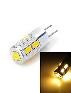 Spot LED / LED à Double Broches Blanc Chaud / Blanc Froid Marsing 1 pièce G4 5W 10 SMD 5730 300-400 LM DC 12 V