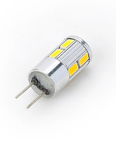 5W G4 Spot LED / LED à Double Broches 10 SMD 5730 300-400 lm Blanc Chaud / Blanc Froid DC 12 V 1 pièce