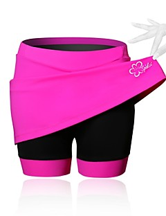 SPAKCT® Cycling Skirt Women's Breathable / Compression / 3D Pad BikeSkirts & Dresses / Compression Clothing / Shorts / Padded