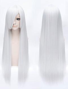 Inuyasha Sesshoumaru Long Straight Style White Women Halloween Cosplay Hair Wig