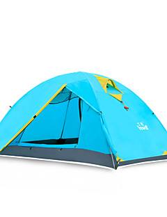 Hewolf Moistureproof Waterproof Polyester One Room Tent for 2 Person Light 1431 Green/Army Green/Royal