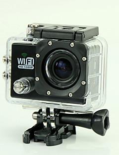 est SJ6000 Akciókamera / Sport kamera 12 megapixeles 1920 x 1080 WIFI / Vízálló / Ütésvédelem / Smile Detection 4X 2 CMOS 32 GB H.264 50 M