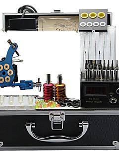 kits de máquina de tatuaje con 4 máquinas de tatuaje de acero y máquinas de hierro fundido tatuaje 4
