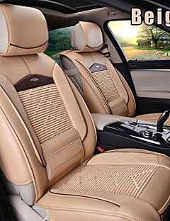 Leather 6 PCS Set All Seasons General Car Seat Covers Protection Seat Universal Fit Car Accessories