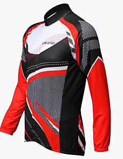 REALTOO Men's  Long Sleeve Spring/Summer/Autumn Breathable Cycling Jerseys