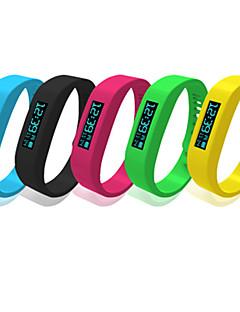 Bluetooth 4.0 bracelet étanche IP58 multifonction bracelet podomètre Bracelet Bluetooth à puce avec écran OLED