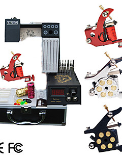 3 Tattoo Guns Kit with LCD Power