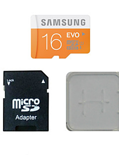 SAMSUNG 16GB Class10 40M/S TF Memory Card And The Memory Card And The Memory Card Adaptor Box