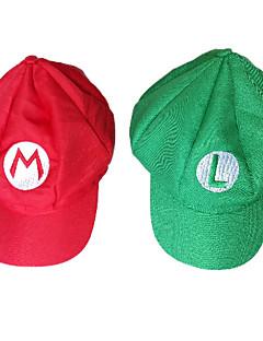 כובעים פסטיבל/חג תחפושות ליל כל הקדושים אדום / ירוק כובע האלווין (ליל כל הקדושים) / קרנבל פוליאסטר