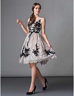 동창회는 양재 칵테일 파티 드레스의 TS - 볼 가운의 특종 무릎 길이 레이스