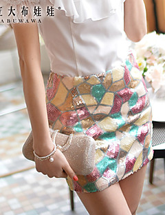 Pink Doll®Women's  Bodycon/Casual/Party Medium Mini Skirts