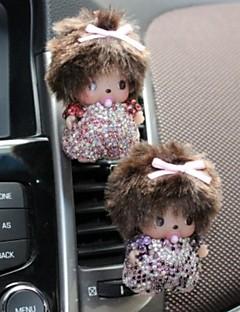 1PCS Crystal Decoration Car Perfume Auto Mouse Shape Fragrance Car Vent Air Freshener Outlet Perfume Diffuser