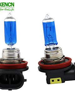 XENCN H8 12V 35W 5300K Emark Blue Diamond Light Xenon Look Halogen Quartz Fog Lamp