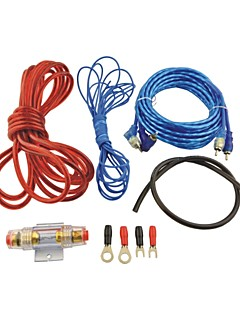 Auto Car 500W RCA to RCA Audio Cable Amplifier Wires Kit