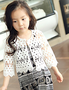 kinderen wraps lace / polyester fashion cut out party / casual bolero witte bolero schouderophalen