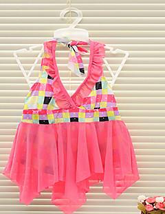 Girl's Summer Stretchy Thin Swimwear (Nylon/Polyester/Spandex)