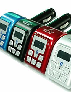 발신자 ID 핸즈프리 블루투스 MP3 플레이어 FM 송신기 (모듬 색상)