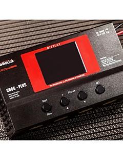 eksklusiv tilladelse radiolink balance oplader cb86 plus for 8pcs 2-6s lipo batteri på én gang for rc model