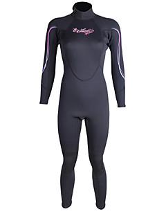 Winmax® Mulheres Drysuits Wetsuits completos Impermeável Respirável Térmico/Quente Secagem Rápida Isolado Compressão Reduz a Irritação