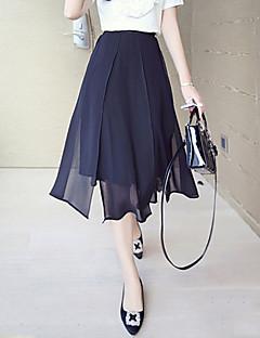 מידי - דק - סגנון - חצאית ( שיפון )