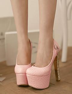 Chaussures Femme Similicuir Talon Aiguille Talons Escarpins / Talons Mariage/Soirée & Evénement Rose/Rouge/Blanc