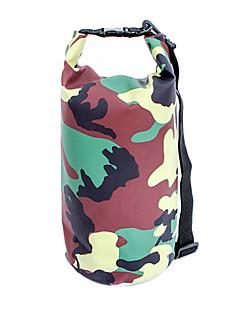 Mala para Bagageiro de Bicicleta/Alforje para Bicicleta / Waterproof Dry Bag (Camuflagem ,Nailom / Grade / Material á Prova-de-Água /