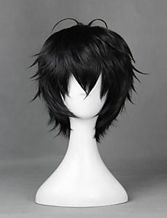 Youth x Machine Gun ゆきむら とおる Black 35cm Cosplay Wigs