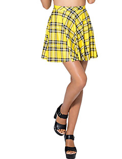מיני - דק - סגנון - חצאית ( ספנדקס/פוליאסטר )