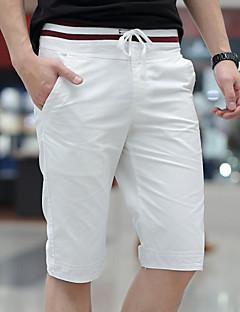 JISNEYMen's Shorts,Casual / Work / Formal / Sport / Plus Sizes Striped  Shorts Pants (Cotton)beach shorts Multicolor