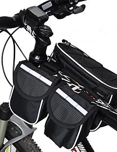 Acacia® Bolsa de Bicicleta <10LBolsa para Quadro de Bicicleta Á Prova-de-Chuva / Multifuncional Bolsa de Bicicleta Ripstop 600DBolsa de