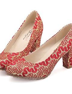 Chaussures de mariage - Rouge / Beige - Mariage / Soirée & Evénement - Talons / Confort / Bout Arrondi - Talons - Homme