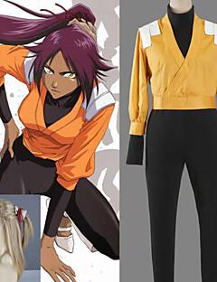 Cosplay Vigour Bleach Shihouin Yoruichi Cosplay Costume