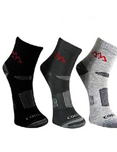 Outdoors Cotton 3 Pairs Differrnt Colour Men's Quick-Drying Wicking Dreathable Socks