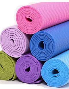 Yoga Mats ( Rood/Blauw/Groen/Paars/Donker Paars/Hemelsblauw/Lichtblauw , PVC )