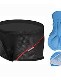 REALTOO® Cyklistické prádlo Pánské Prodyšné / 3D Pad Jezdit na kole Spodní prádlo šortky / Kraťasy podšité Nylon / elastan / Silikon