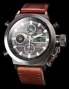 ASJ Masculino Relógio Esportivo Relógio Militar Relógio de Pulso Relogio digital Japanês Quartzo DigitalLCD Calendário Cronógrafo