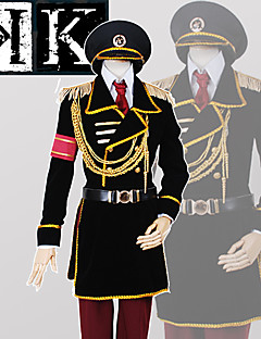 Anime <K > K Project The Missing King Yata Misaki Military Uniform CosplaySuit