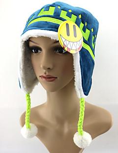 Čepice / klobouk Inspirovaný Dramatical Murder Noiz Anime Cosplay Doplňky Klobouk Niebieski Mikrovlákno / polar fleece Pánský