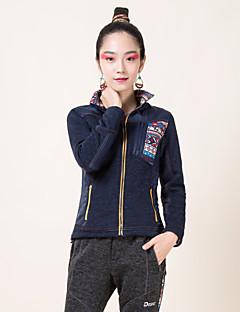 Cycling Jacket Women's Long Sleeve Bike Breathable / Thermal / Warm / Windproof / Fleece Lining / Insulated / Wearable / Antistatic