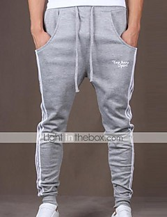 Yoonheel Men's Sweatpants,Casual / Sport Solid Cotton / Polyester